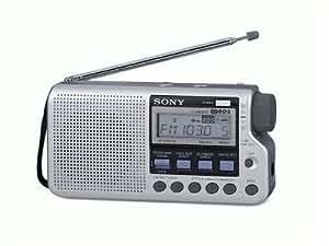 Sony iCF-m33RDS radio portable noir
