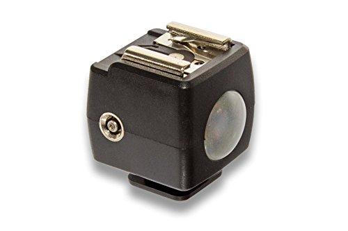 vhbw Servo Blitzauslöser für Canon Blitzgeräte z.B. Canon Speedlite 270EX II, 320EX, 320EX II, 380EX, 420EX, 430EX, 430EX III-RT.