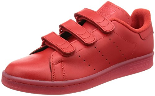 adidas Stan Smith Cf, Basket mixte adulte Rouge - rouge