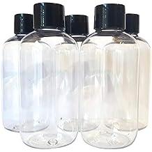 5 x 100 ml transparente de mascotas de juguete con vacío botellas de plástico de color