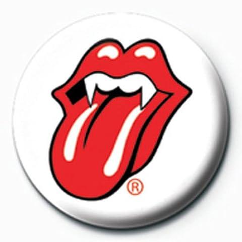 Rolling stones lips capture bT-button ø2,5 ansteck 193 cm