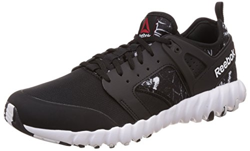 Reebok Men's Twistform 2.0 Gr Black and White Running Shoes – 8 UK/India (42 EU) (9 US) 41o71a4lFtL
