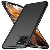TOPACE Hülle für iPhone 11 Pro Max 6.5'' Ultradünne Leichte Matte Handyhülle Einfache Stoßfeste Kratzfeste Schutzhülle kompatibel mit Apple iPhone 11 Pro Max 2019 (Schwarz)