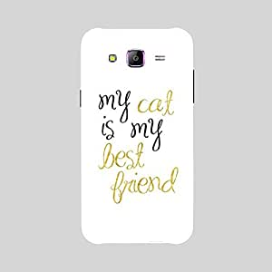 Back cover for Samsung Galaxy A5 My cat is my Best Friend