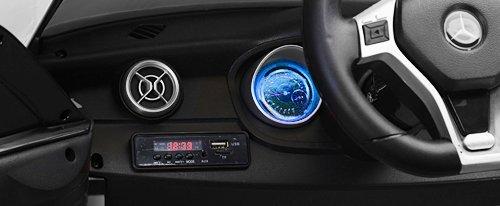 RC Auto kaufen Kinderauto Bild 6: SIMRON - Mercedes-Benz A45 AMG SUV Ride-On 12V Kinderauto Kinderfahrzeug (Schwarz)*