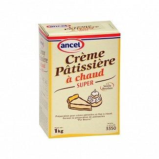 Crème pâtissière à chaud Ancel 1kg - La boutique des pâtissiers