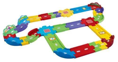 Image of VTech Baby Toot-Toot Drivers Deluxe Track Set