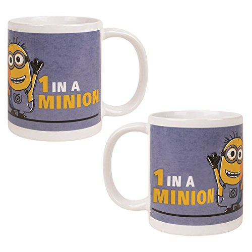 King of Merch - Tazza - Minions Yao Kevin Phil Agnes unicorno Unicorn Scarlet Overkill Herb Bob Stuart gru Flux Edith Vector einauge Margo Minion, Ceramica, 101