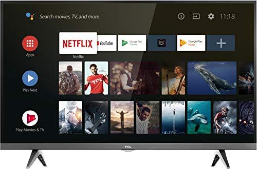 TCL 40ES560 Smart TV de 40 Pulgadas con Full HD, HDMI, USB, WiFi y sintonizador Triple, Color Negro string