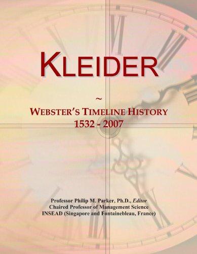 imeline History, 1532 - 2007 (Internationalen Kleid)