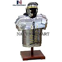 nautique Mart médiéval Roman Legionaries Armour Lorica Segmentata Corps Armour W/casque