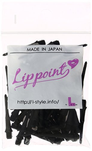 On soft dart tip 50 lines L-Style Lip Point (lip points) Black (japan import) by L-Style (Darts Line)