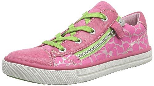 Lurchi - Sanni, Scarpe da ginnastica Bambina Rosa (Pink (fuchsia 23))