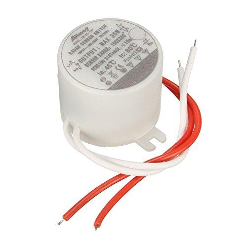 LaDicha 35W Runder Radar Mikrowellen Induktion Sensor Schalter