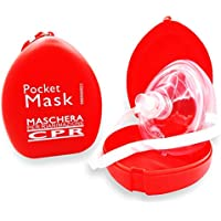 AIESI Pocketmaske CPR Beatmungsmaske für professionelle intensivmedizin beatmung Mund zu Mund preisvergleich bei billige-tabletten.eu