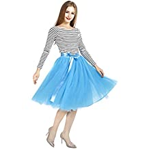 a16bad5ec2 Amazon.es  falda tul azul - Amazon Prime