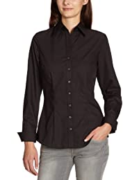 Schwarze Rose Damen Bluse Slim Fit, 080613