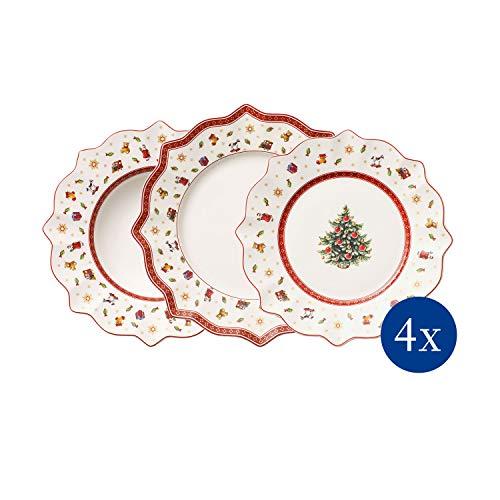 Villeroy & Boch 14-8585-8816 Set de 12 Assiettes - Multicolore