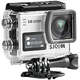 SJCAM SJ6 LEGEND SILVER 4K Actionkamera 16MP Touchscreen Dual-Display WLAN HDMI Wasserdicht silber