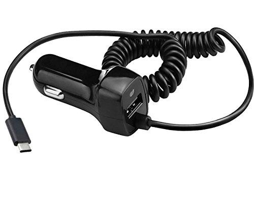 Yubohai tipo C auto adattatore splitter caricabatteria micro USB 12V 3.1Amp veloce ricarica universale con porta USB per Galaxy S8/S8Plus Nexus 6P/5Google pixel LG G5/G6e più