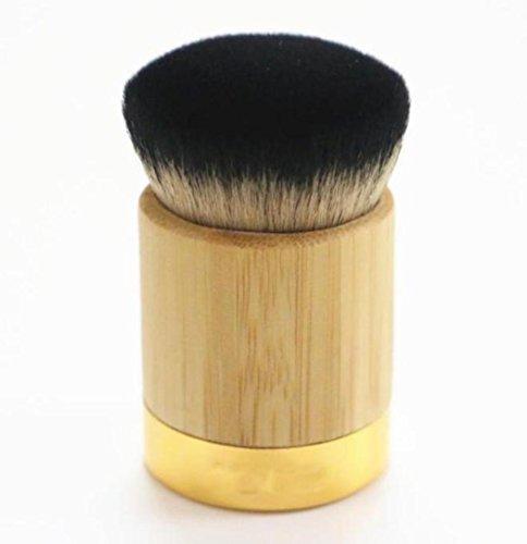 Tonsee Poudre de Bambou Foundation Brush poudre de chèvre cheveux pinceaux de maquillage
