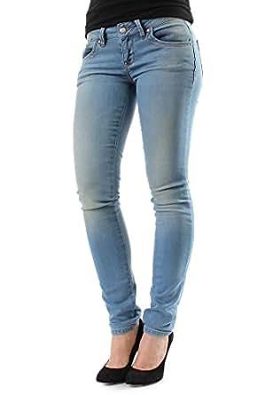 LTB Sweatpants Women MOLLY X Kanto Blue Wash, Hosengröße:30/32