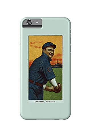 Cincinnati Reds - Billy Campbell - Baseball Card (iPhone 6 Plus Cell Phone Case, Slim Barely There)