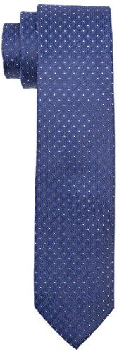 Calvin Klein Herren Krawatte Slim 6.4 cm, Blau (Slate Blue 417), One size