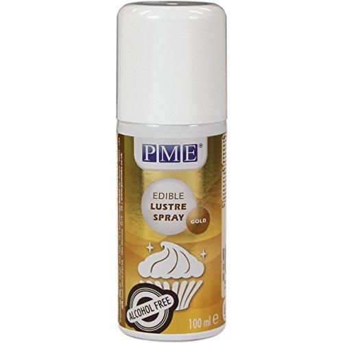 Spray alimentario de brillo dorado - 100 ml