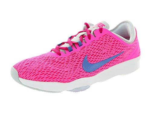 Nike Wmns Zoom Fit, Chaussures de Tennis Femme, Talla Pink Pow/Polar/Frbrry/Pr Pltnm