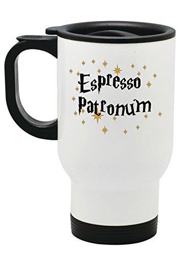 esso Patronum Travel Mug-14oz Edelstahl to go Becher für Zauberer ()