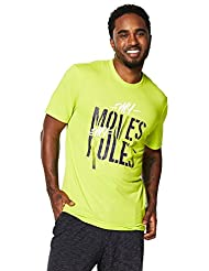 Zumba Fitness My Moves My Rules T-Shirt Homme