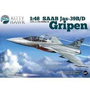 """Maquette avion : SAAB JAS-39 B/D """"GRIPEN"""""""