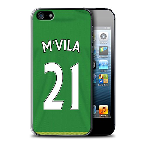 Officiel Sunderland AFC Coque / Etui pour Apple iPhone SE / Pack 24pcs Design / SAFC Maillot Extérieur 15/16 Collection M'Vila