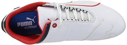 Puma - Bmw Mme Future Cat M1, Sneakers, Unisexe Bianco (bianco (blanc-haut Risque Rouge 02))