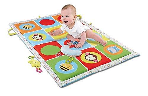 Haehne Grande Bambino Attività Gioca a Mat - Bambini che Strisciano il Giocattolo Educativo per i Bambini che Apprendono il Gioco Morbido Imbottito, 145*90cm Tappeti per Bambini