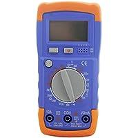 ZYX Multímetro, Pantalla Digital Medidor portátil de Mano Multímetro, DC/AC Voltímetro Prueba