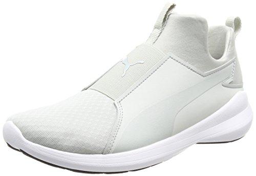 Puma Damen Rebel Mid Wns Sneakers, Grau (Gray Violet-Gray Violet White 02), 40.5 EU (Damen Schuhe Sport Puma)