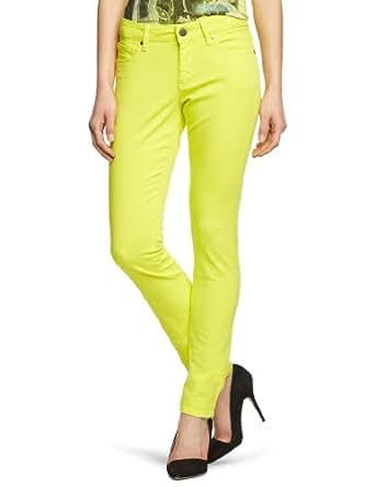 MEXX METROPOLITAN Damen Jeans Normaler Bund 6BCTM001, Gr. 36, Gelb (738)