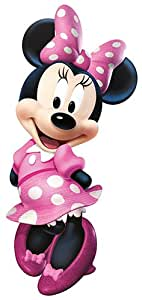 RoomMates Minnie Mouse Bowtique Giant Repositionable Disney Wall Stickers