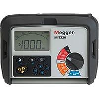 Megger MIT330 Medidor De Resistencia De Aislamiento, Rango 0.01 A 999 MΩ
