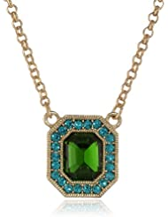 Image of 1928 Jewelry 48812 - Colgante de metal con cristal