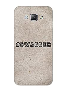 Samsung A8 Back Cover - Swagger - Typography - Designer Printed Hard Shell Case