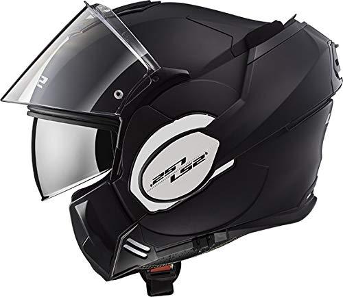 CASCO MOTO LS2 FF399 VALIANT MATT BLACK -TAGLIA L-