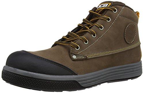 Jcb 4cx, Chaussures de sécurité Homme - Marron (brown), 44 EU Marron (brown)