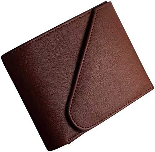 NERIYA Men Brown Artificial Leather Wallet  6 Card Slots