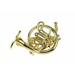 Miniblings Horn Brosche Hornbrosche Pin Anstecker Anstecknadel Hornist + Box