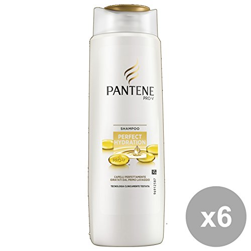 Set 6 PANTENE Shampoo 1-1 PERFECT HYDRATION 250 Ml. Prodotti per capelli