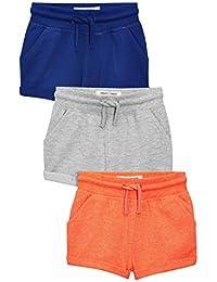 next Niños Pack De Tres Pantalones Cortos Corte Estándar Shorts Ropa Abajo