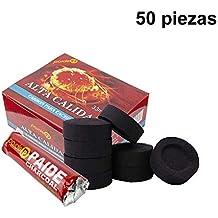 [Pack] rollos de carbón para cachimba, shisha, hookah, narguile e incensario